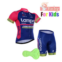 Kids Bike Jersey Shorts Sets Girls Children Cycling Clothing Suits Boys Team Bicycle Ciclismo Boys MTB Shirts Ropa Ciclismo