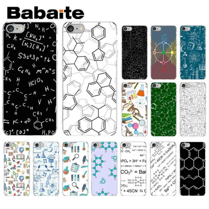 Babaite الكيمياء الشخبطة العملاء عالية الجودة جراب هاتف ل أبل فون 8 7 6 6S زائد X XS ماكس 5 5S SE XR غطاء ل كابا