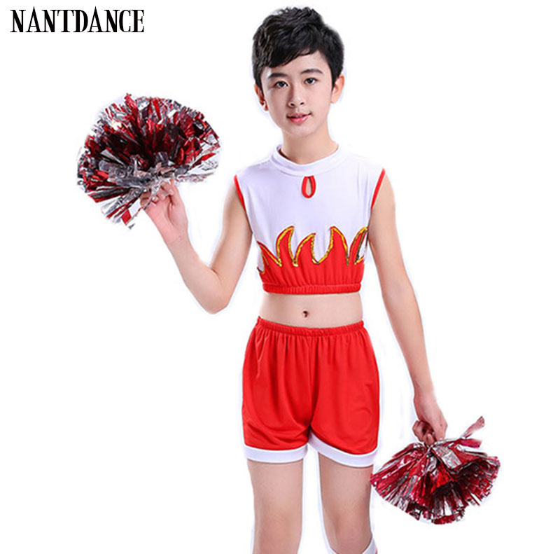 Boy Cheerleaders Suit For Boys School Cheer Team Uniforms Kids Performance  Competition Costume Sets Girls Boy Cheerleading Suits School Uniforms  -  AliExpress