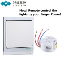 K4 Wireless Remote Control Light Switch With One Receiver Smart Digital 85v 265v