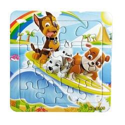 Пазлы известного мультфильма Джейми Whitney Развивающие игрушки для детей цифровой Бумага 9/12 шт игра-головоломка малыш игрушки Бесплатная
