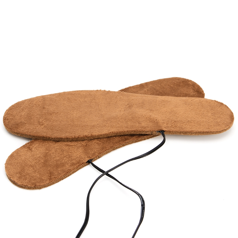 Nuovo Caldo Usb Elettrico Alimentato Riscaldato Solette per Le Scarpe Stivali Mantenere I Piedi Caldi