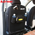 Kayme universal car back seat organizer holder tablet storage bag insulated auto multi pocket chair for kids