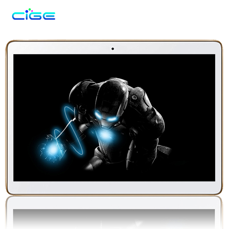2018 New 10.1 inch Tablet pc Android 7.0 Quad Core 2GB RAM 16GB ROM 1280*800 IPS GPS WiFi Dual SIM 3G Tablets Full HD Screen купить в Москве 2019