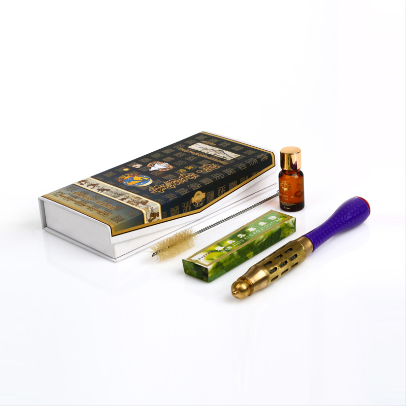 ФОТО Heliocalm made of copper moxa stick moxa set Small moxa stick