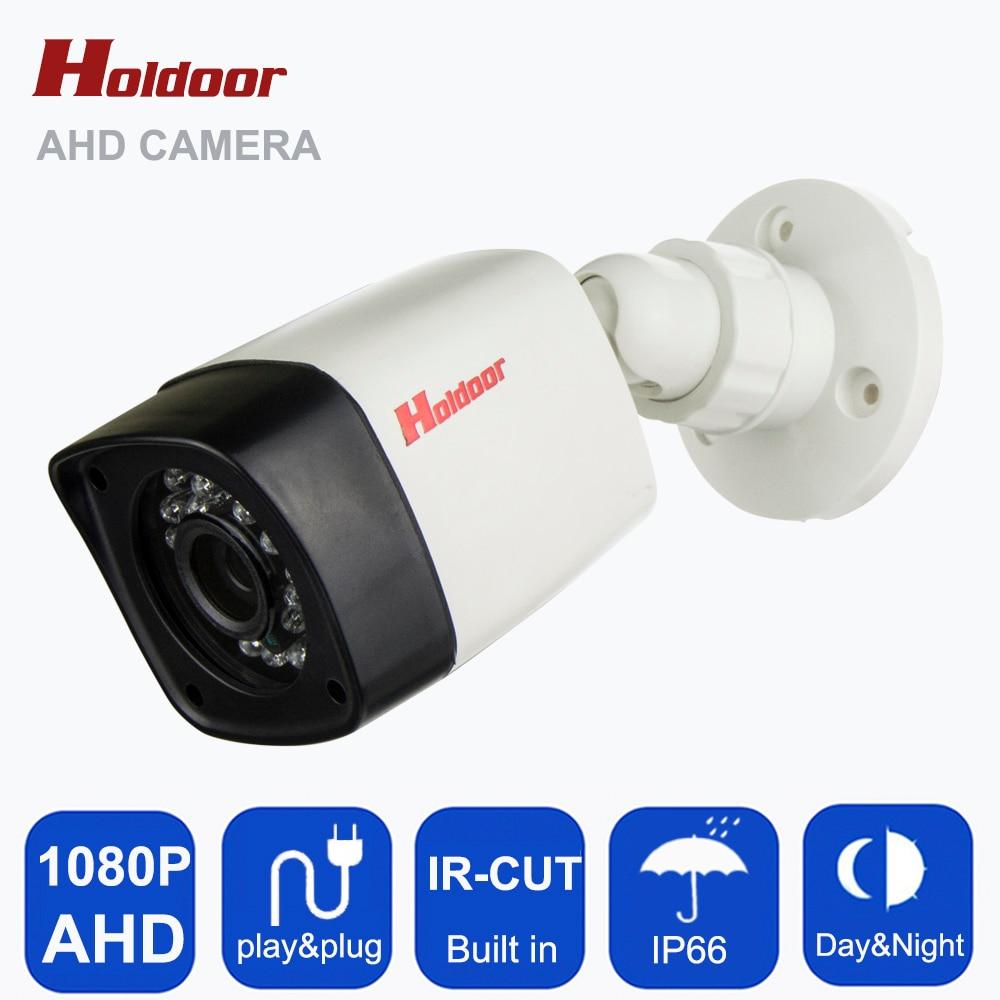 AHD 1080P HD 2.0MP Bullet Camera CCTV Indoor Security 24 IR Night Vision HD CCTV Camera System Bullet Cam IR Cut Filter on sale