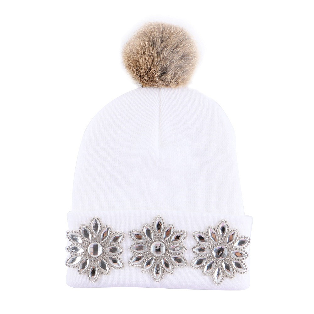 3 to 12 year old boy girl brand winter hat  children beauty knitted beanies cap animal real ball thermal outdoor hip hop gorros