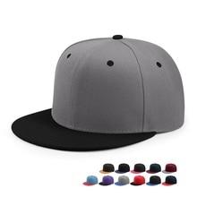 Venta al por mayor Hip Hop gorra plana pico adulto Color sólido parche  béisbol sombrero mujeres 1a0557d7f06