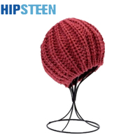 HIPSTEEN Freestanding Wire Ball Hat Stand Cap Wig Holder Storage Display Rack