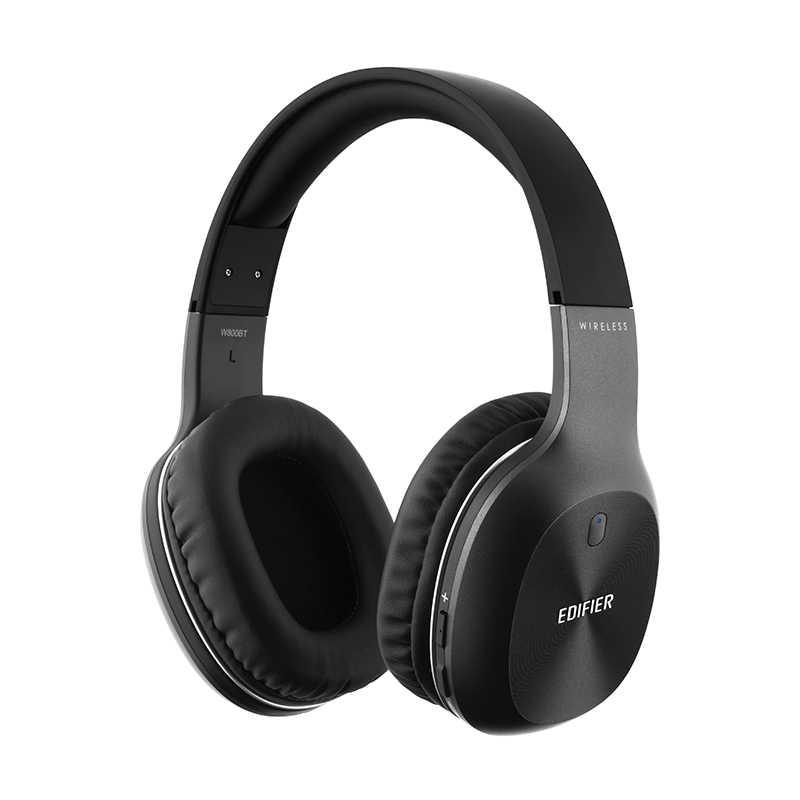 EDIFIER W800BT słuchawki Bluetooth 40mm sterowniki bas bezprzewodowy zestaw słuchawkowy ergonomiczne dopasowanie połączenia bezprzewodowe i przewodowe słuchawki