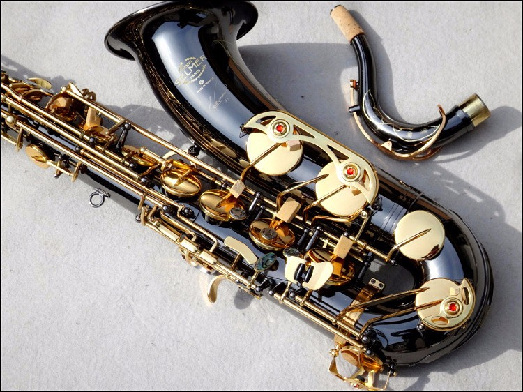 High Quality Selmer Tenor Saxophone Sax French Tenor R54 B Flat Musical Instruments Professional Black Nickel Gold brand new nickel plated saxophone high quality saxophone alto french selmer instruments r 54 model saxofone sax accessories