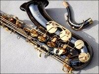 High Quality Selmer Tenor Saxophone Sax French Tenor R54 B Flat Musical Instruments Professional Black Nickel Gold