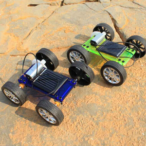Assembly Mini Solar Powered Toy DIY Car