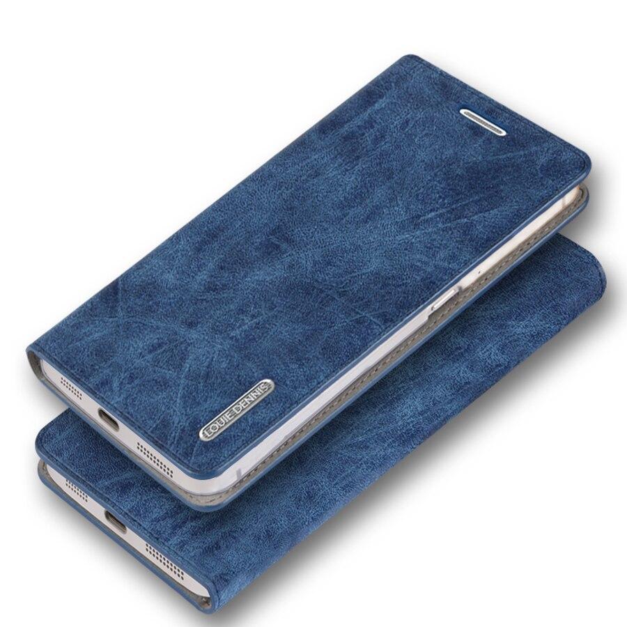 imágenes para Estilo Antiguo lujo PU Del Tirón Del Cuero Soporte de La Cubierta Caja del teléfono para Huawei Mate 1 MT1-U06 Case Holder + Regalo