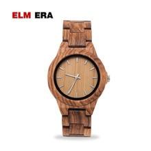 ELMERA di Legno Della Vigilanza del Braccialetto delle Donne femme 2019 donne orologi Houten horloge Orologio Stili di arte di Lusso Famoso di Marca della vigilanza di legno