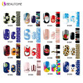 S1201-S1256 Series Nail Art Stickers Decals Full Cover Flower Design Adhesive Polish Foil Nail Wraps Patch DIY Nail Decorations