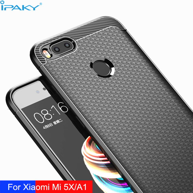 timeless design ce18a c9102 US $4.99 |iPaky Phone Bags for Xiaomi Mi A1 Case 360 Full Protection  Texture Rugged Armor for Xiaomi Mi 5X Cover Soft Silicone Coque-in Fitted  Cases ...