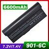 6600mah 7 4v Laptop Battery For Asus AP23 901 AL23 90 AL24 1000 Eee PC901 901HD