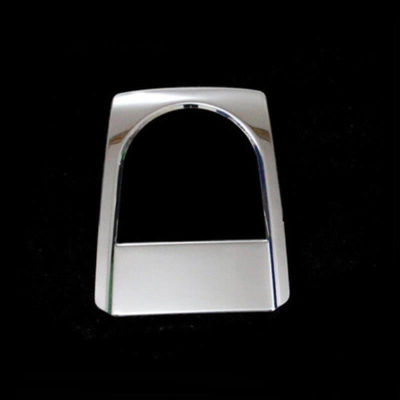 Tonlinker коробка для хранения перчаток чехол наклейка для Volkswagen POLO 2011-18 автомобильный Стайлинг 1-2 шт. наклейка из нержавеющей стали - Название цвета: rear seat box