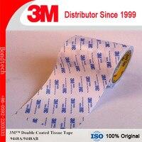 300 мм х 50 м 1 упаковка 3 м двойным слоем ткани Клейкие ленты 9448a для табличка/пена для склеивания, белый