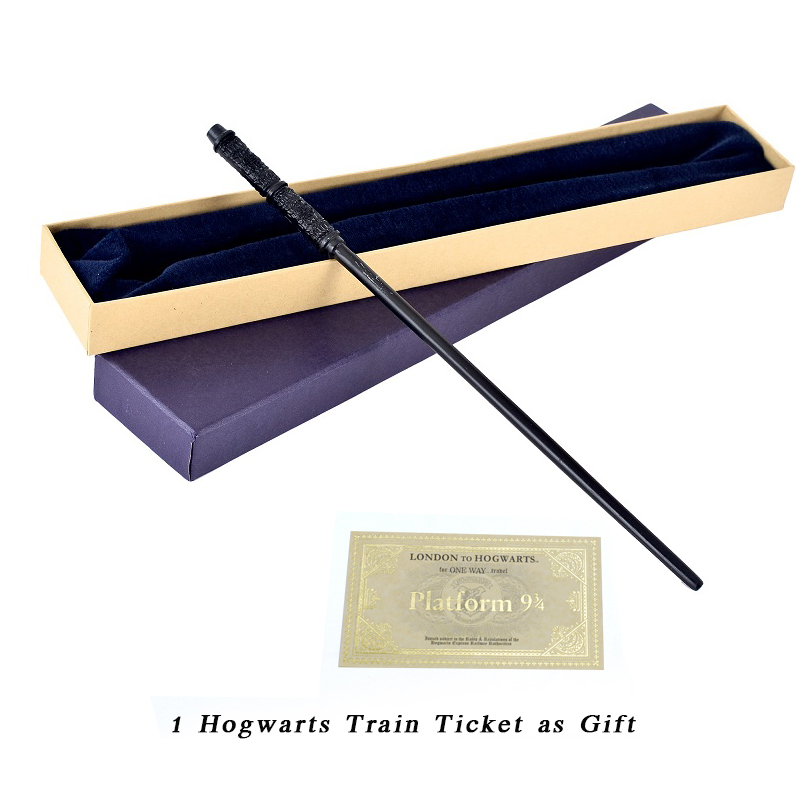 Cosplay Metal/Iron Core Professor Severus Snape Magic Wand with Gift Box Package