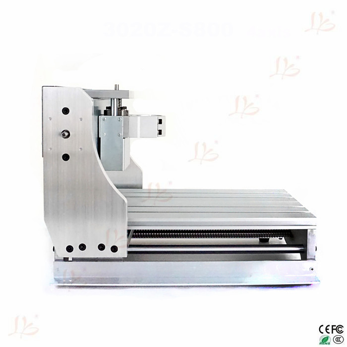 CNC Engraving machine 3020 DIY CNC Frame with ball screw, optical axis and bearings
