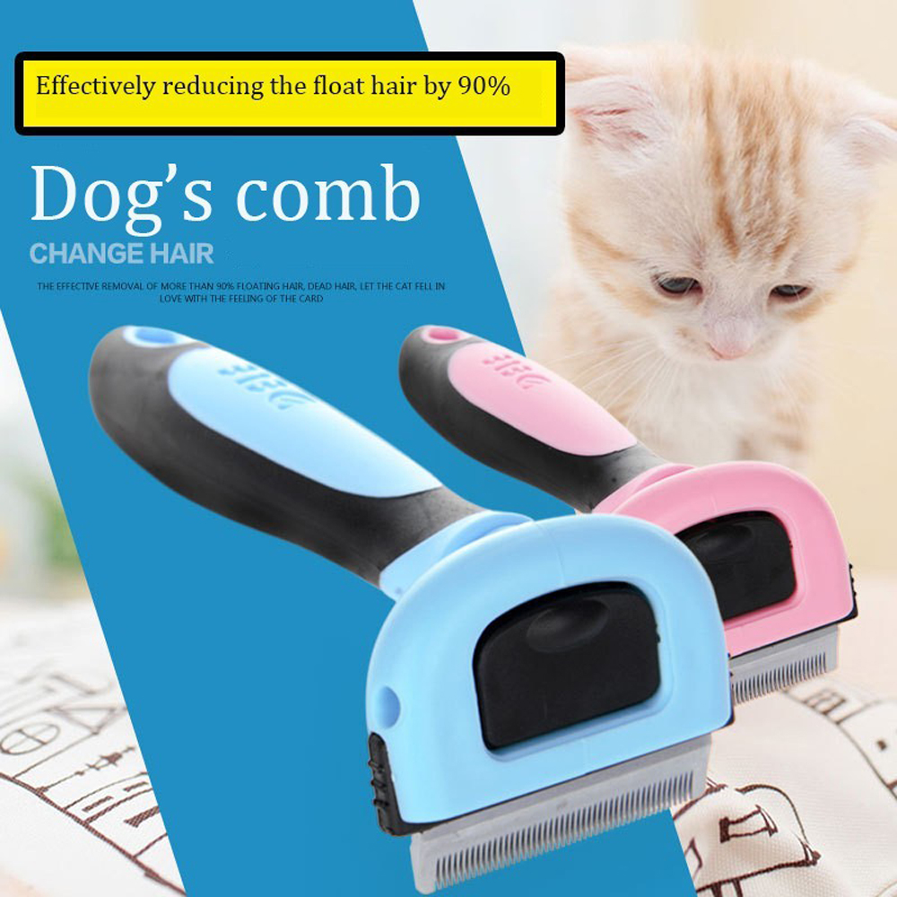 Hairs-Comb-For-Pet-Dog-Cats-Hair-Grooming-Brush-Pet-Hair-Clipper-Kitten-Shedding-Trimming-Brush-Detachable-Remove-the-floating-2