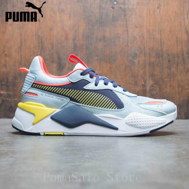 52abfa1c1b677 ... PUMA RS-X Toys Transformer Men Women Badminton Shoes Reinvention RS  System Cushioning Sneaker 369579 ...