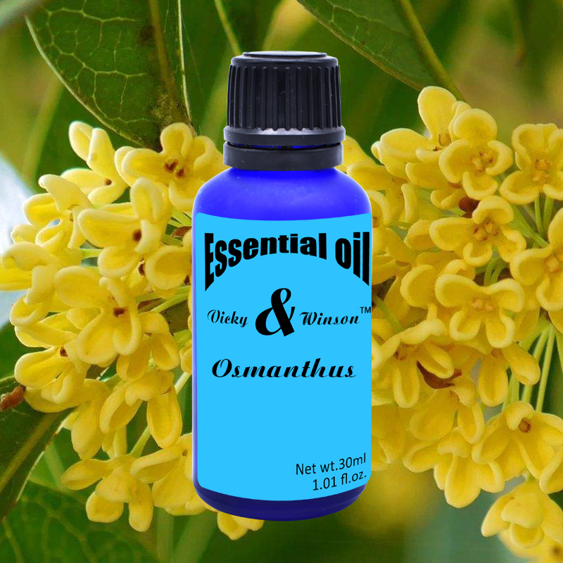 Vicky&winson Osmanthus Aromatherapy Essential Oils 30ml Water - Soluble Flavor Towels Perfume Laundry Detergent Deodorization