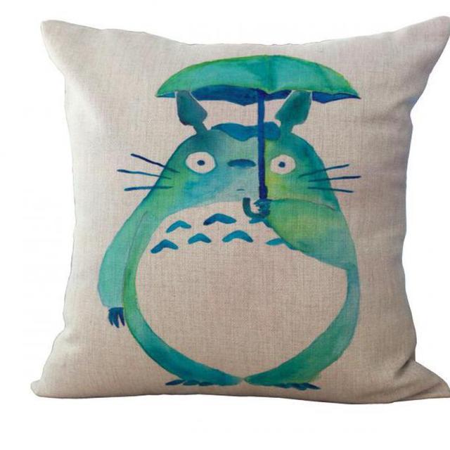 Totoro Pillow Cushion Cover – Home Decorative Pillow Sofa Cushion Cover