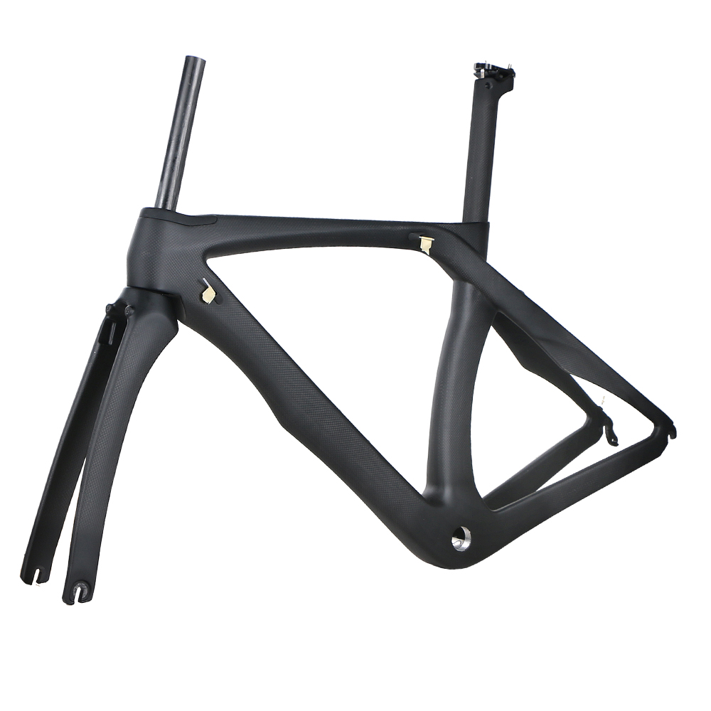 RB1K THE ONE ROAD BICYCLE carbon fiber road bike frame fork clamp seatpost Carbon Road bicycle Frame 20 color 5 size