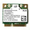 Wireless-n dual band 6205agn 802.11 a/b/g/n 2.4 ghz & 5.0 ghz 300 150mbps wireless mini metade wi-fi cartão wlan para intel 62205 633anhmw