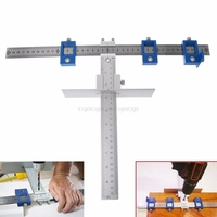 Wood Drill Guide Punch Locator Sleeve Cabinet Hardware Jig Drawer Pull Jig Dowel Furniture Punching Tool Woodworking J03 19