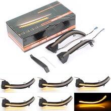 2 Chiếc Năng Động Biến Tín Hiệu Đèn LED Gương Chiếu Hậu Chỉ Báo Blinker Repeater Ánh Sáng Cho Xe BMW 5 6 7 Series F10 F11 f07 F06 F12 F13 F01