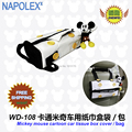 Car accessories  cartoon mickey mouse car back Tissue Box Cover WD-108 free shipping