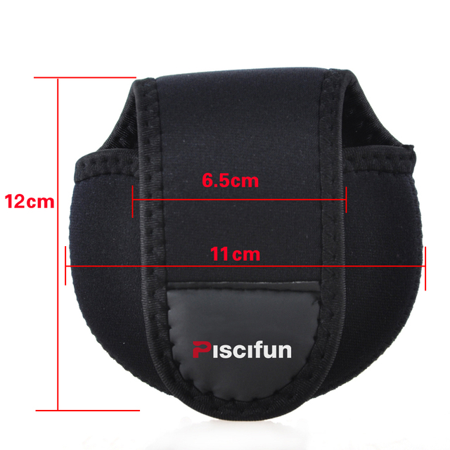 Baitcasting Fishing Reel Protective Case Cover Pouch Storage Portable Bag
