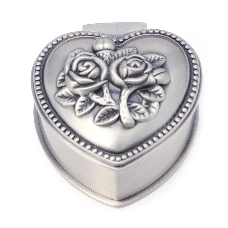 JAVRICK Rose Jewelry Display Box Case Ring Earring Necklace Storage Holder Organizer New