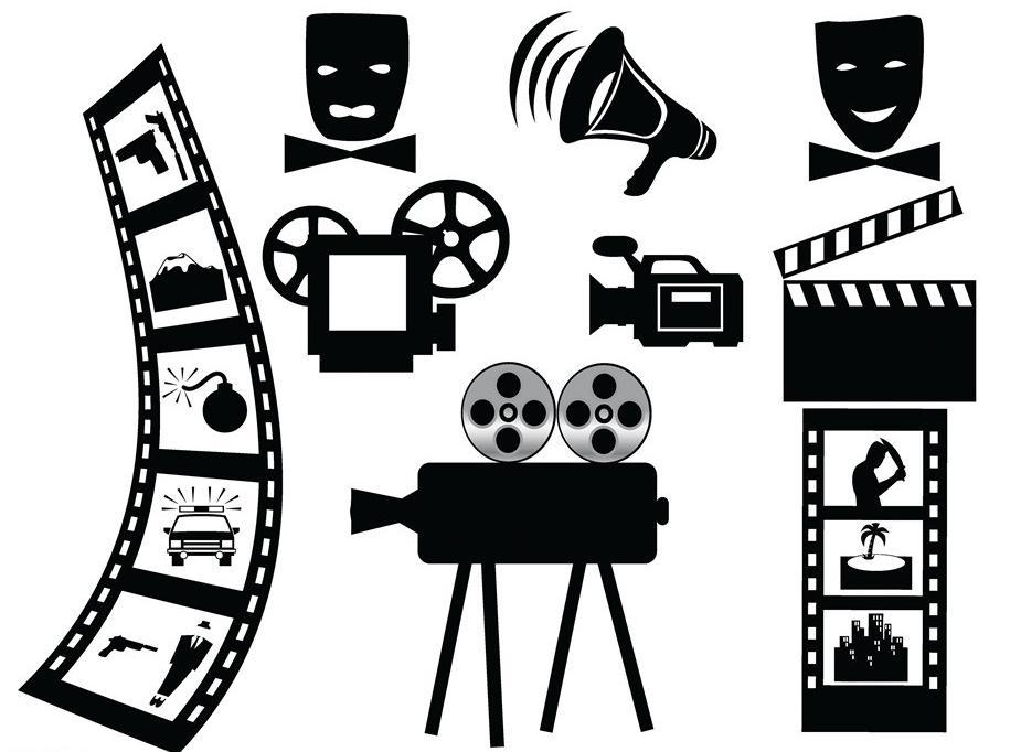카메라 필름 벽 스티커 영화 필름 시네마 벽화 아트 벽 스티커 스튜디오 살롱 영화 회사 침실 거실 홈