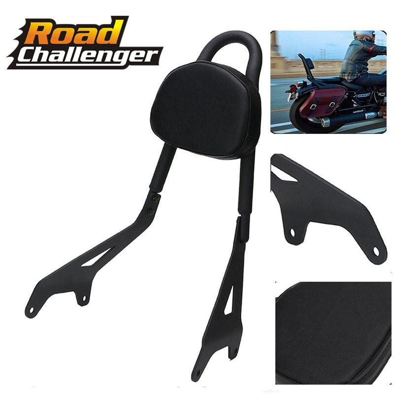 Motorcycle Black Rear Passenger Backrest Sissy Bar Luggage Rack For Yamaha Star Bolt XVS950 2014-17 16 15