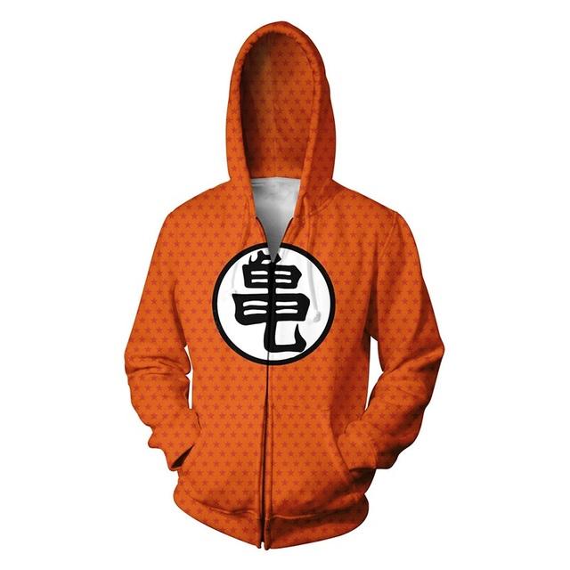 Dragon Ball Zipper Jacket (12 Model)