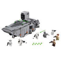 845Pcs LEPIN 05003 Star Wars First Order Transporter 7 Dolls Figure Blocks Construction Building Toys For