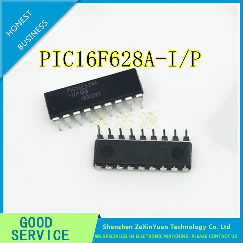5PCS -100PCS PIC16F628A-I/P PIC16F628AIP PIC16F628A 16F628A DIP18  In Stock