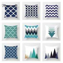 Fuwatacchi Simple Geometric Cushion Cover Diamond Striped Wave  Throw Pillow Decorative Sofa Case Pillowcase