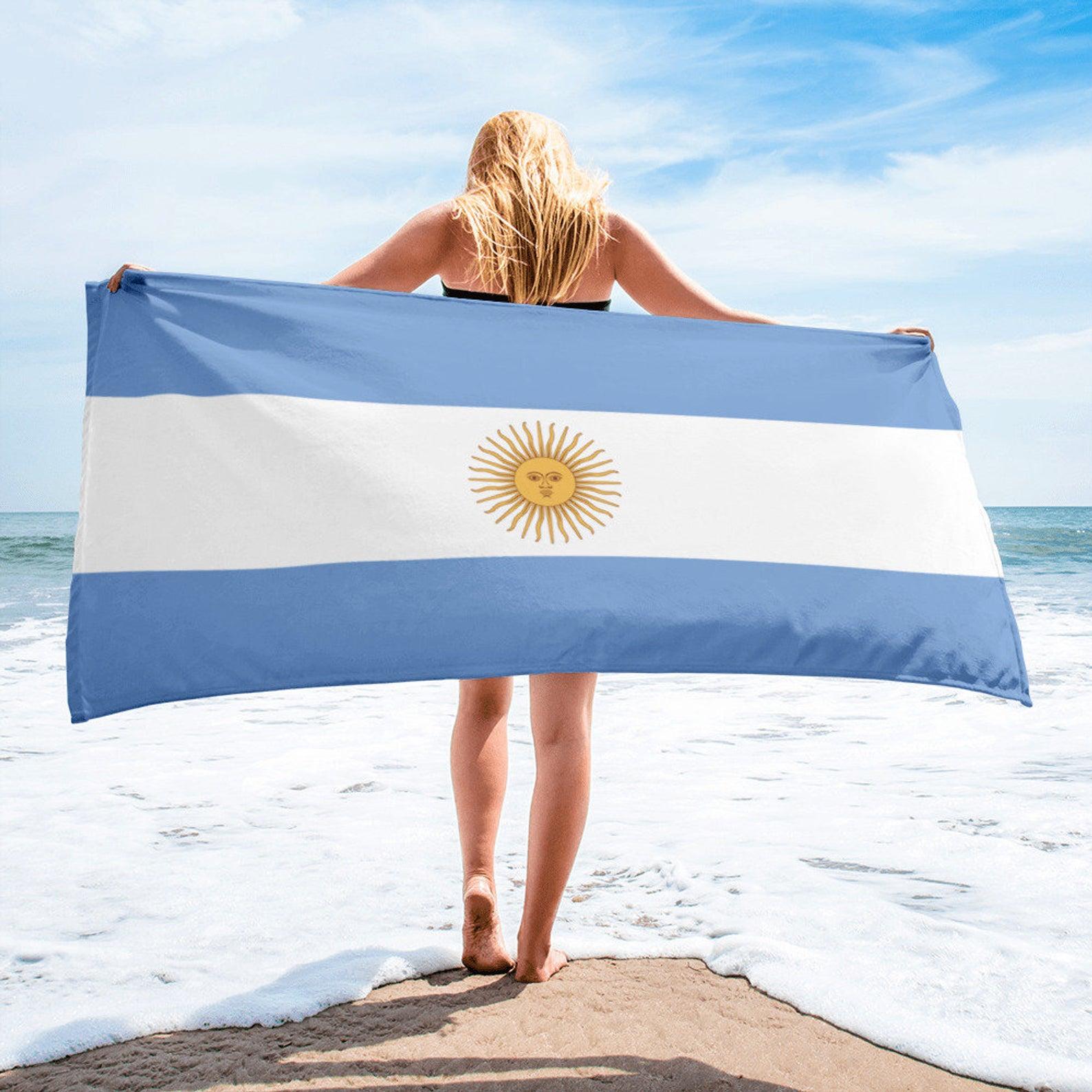 hombres ni/ños ni/ñas Toalla de playa de microfibra con bandera de Uruguay Dise/ño de personalidad de gran tama/ño 31.5 x 51 pulgadas Toallas de piscina s/úper absorbentes suaves para adultos mujeres