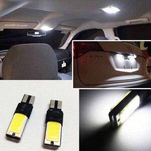Автомобиль 4 шт. T10 саманные 6В W5W 194 168 светодиодный Canbus Error Free клиновидные боковые Светильник лампы авто номерного знака белые светодиодные лампы 12V
