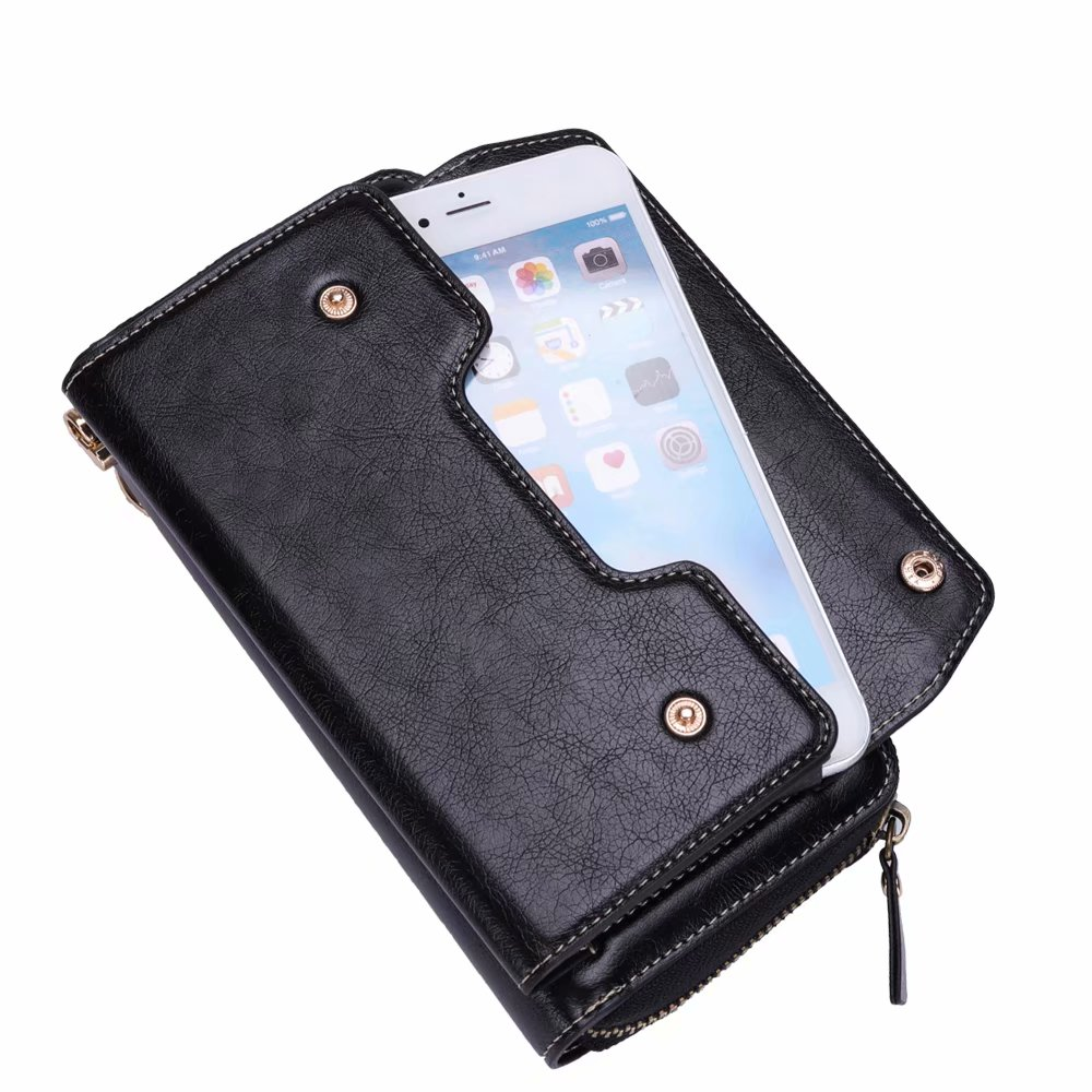 Finger Ring Belt Hand Strap PU Wallet Mobile Phone Case Pouch For Xiaomi Mi A1,Mi A1 (5X),Redmi Note 5A Prime,Mi Mix 2,Mix Evo iphone xs 財布