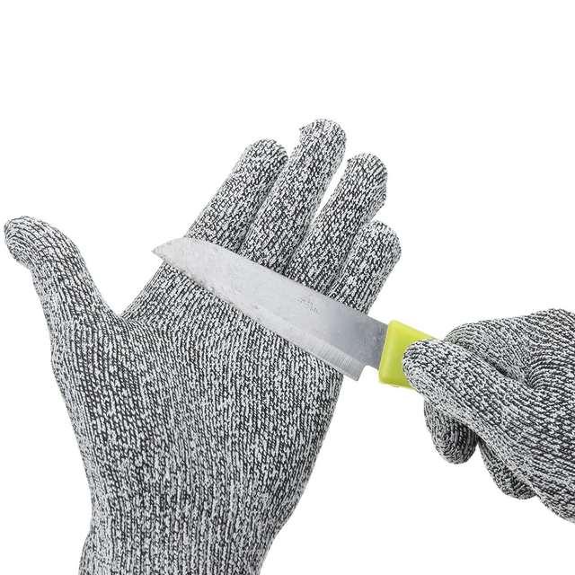 US $4.0  NEUE Safurance Anti Schneiden Schnittfeste Handschuhe  Lebensmittelqualität Küche Metzger Schutz 5 Arbeitssicherheit in NEUE  Safurance ...