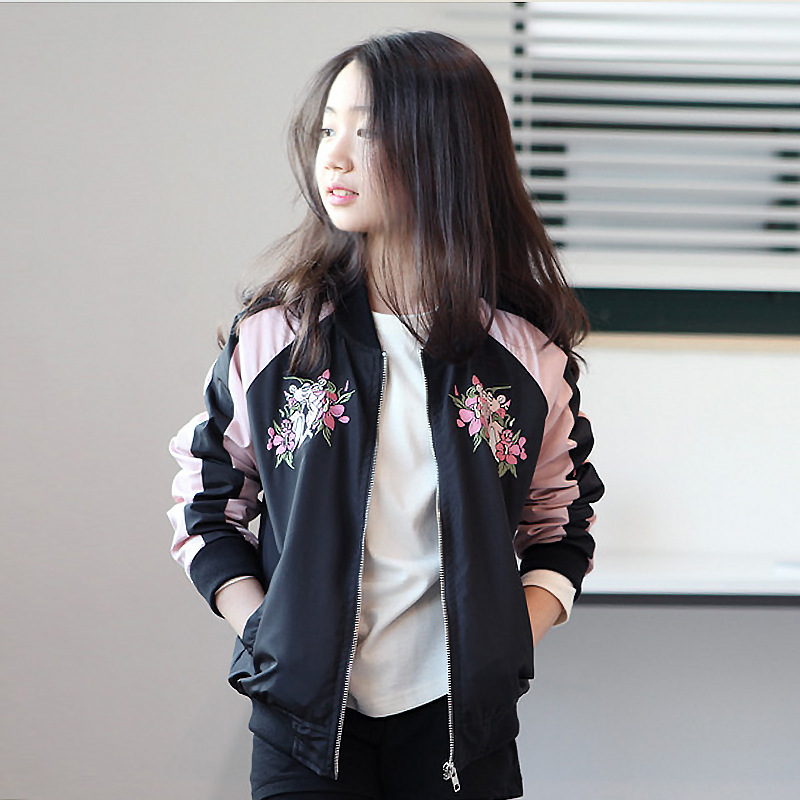 Detail Feedback Questions about Girls Jacket 2019 Autumn Winter Spring  Outfit For Girls Kid Outerwear Coat For 7 8 9 10 11 12 13 14 Years Teens  Clothes ... 67ed8740c1931