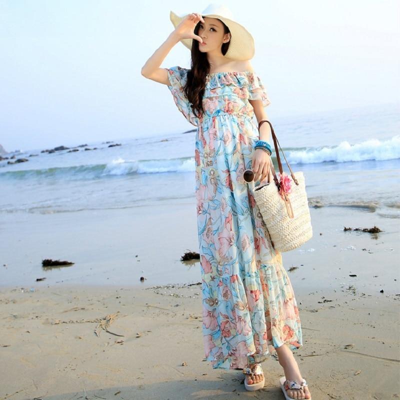 new summer womens dresses print chiffon maternity dresses pregnancy dresses maternity clothing summer clothing 16659
