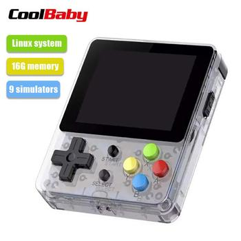 LDK 2.6 Inches Screen Mini Handheld Game Console Nostalgic Children Kids Retro Game Mini Family TV Video Consoles D25